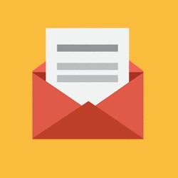 E-mail convite
